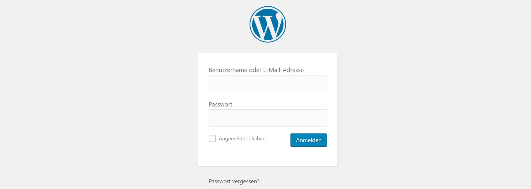Homepage erstellen mit WordPress